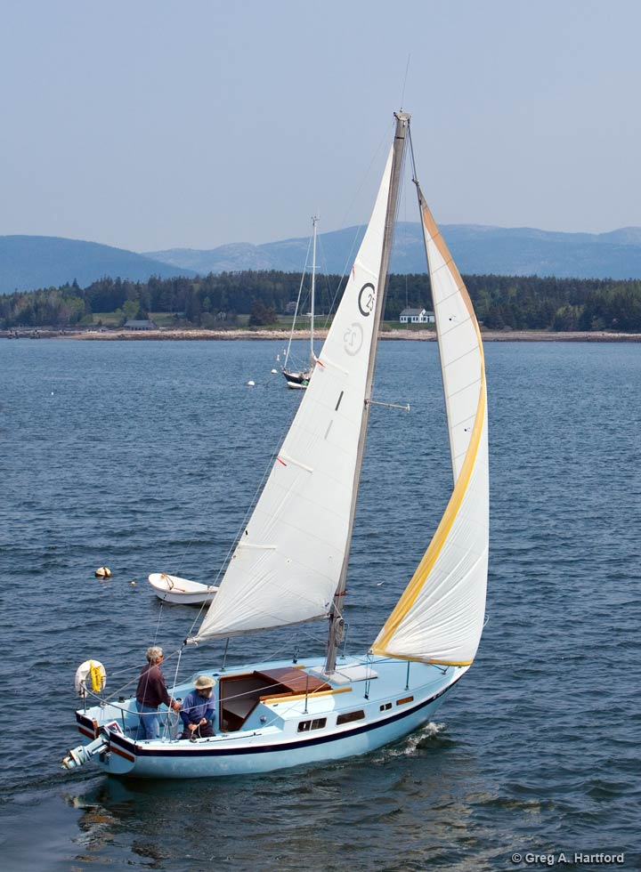 The Cal 25 foot Sceptre Sailboat Rental